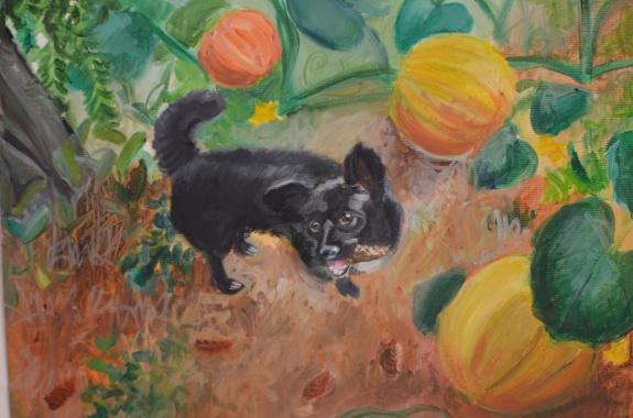 illust. 3, oil on paper, maria Viidalepp