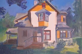 illust. 5, oil on paper 2014, Maria Viidalepp