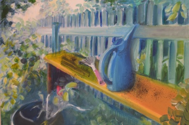 illust. 6, oil on paper 2014, Maria Viidalepp