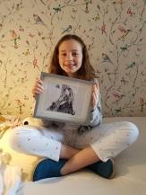 Elsa birthday Maria picture