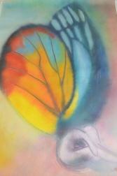 Emerging From Sleep, Maria Viidalepp 2013, oil on canvas