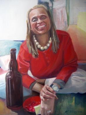 phsh.Generosity, Maria Viidalepp, oil on canvas 2013, Paris